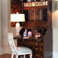 Eclectic Bedroom by Lori Dennis, ASID, LEED AP