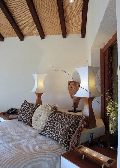 Tropical Bedroom by Lori Gilder