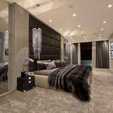 Contemporary Bedroom by The Interior Design Studio