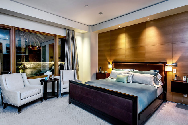 contemporary bedroom by Stotler Design Group