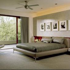 Contemporary Bedroom by Jorie Clark Design