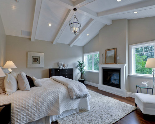 Vaulted Ceiling Master Bedroom Design Ideas Remodel Pictures – Vaulted Ceiling Bedroom Ideas