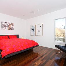 Contemporary Bedroom by tagr design