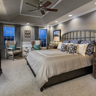 Example of a bedroom design in Philadelphia