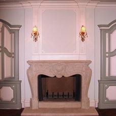 Traditional Bedroom by American Masonry Supply, Inc.