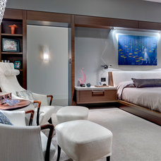Contemporary Bedroom by Domiteaux + Baggett Architects, PLLC