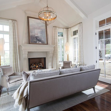 Lounge Master Bedroom - Mike Ford Custom Homes - Witherspoon Parade Model