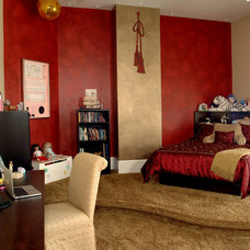Transitional Bedroom by S & B Interiors, Inc.