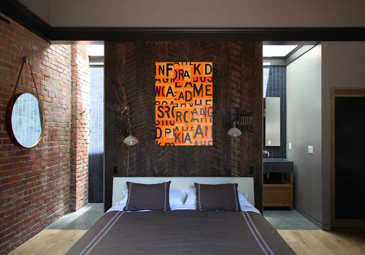 Современный Спальня by Union Studio