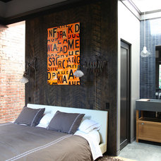 Industrial Bedroom by Union Studio
