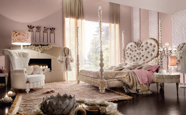 Eclectic Bedroom by Imagine Living