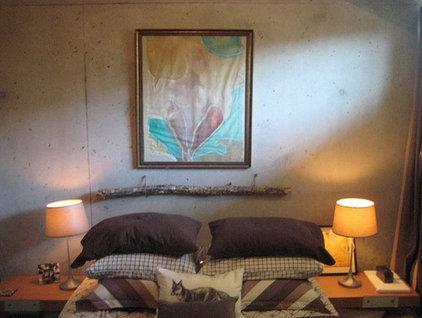 Modern Bedroom Lucas's Loft/becky harris