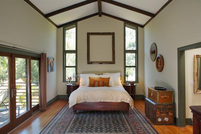 Eclectic Bedroom by EAG Studio
