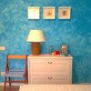 Watercolors Inspire Dreamy Walls