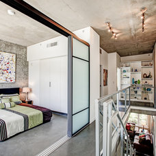 Industrial Bedroom by Gordon Wang Photography