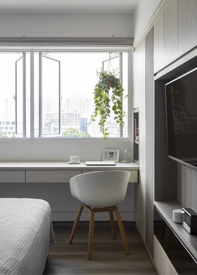 Fusion Bedroom by SYNC INTERIOR PTE. LTD.