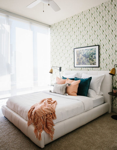 Eclectic Bedroom by BANDD DESIGN