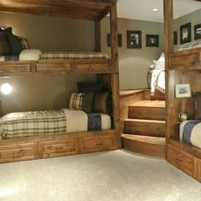 Rustic Bedroom by The Modern Hive