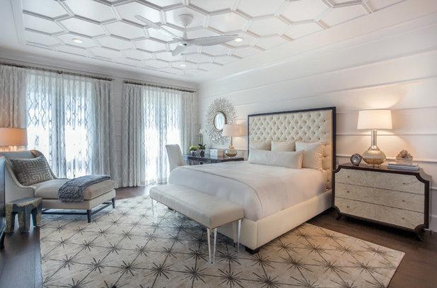 Übergangs-Schlafzimmer von Ananas-Haus-Interieur-Design