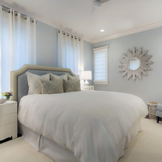 Transitional Bedroom by Pineapple House Interior Design