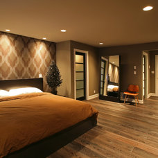 Contemporary Bedroom by Kenorah Design + Build Ltd.
