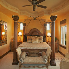 Mediterranean Bedroom by Jenkins Custom Homes
