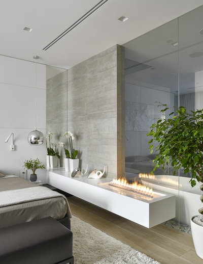 Contemporary Bedroom by Decoflame