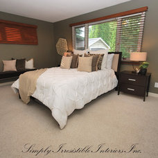 Transitional Bedroom by simply irresistible interiors inc