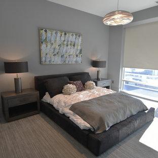 спальни с серыми стенами фото 400 дизайн интерьера спальной