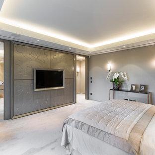 Идея дизайна: спальня в стиле модернизм