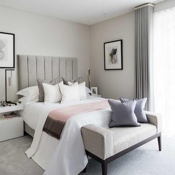 Luxury interior at Fulham Reach