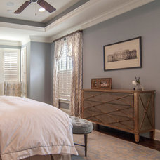 Transitional Bedroom by Jaclyn Ehrlich