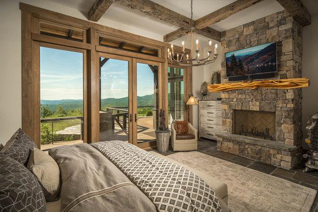 Rustic Bedroom by VPC Builders, LLC