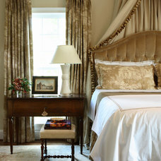 Traditional Bedroom by Robert Brown Interior Design