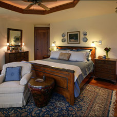 Traditional Bedroom by Lynne Barton Bier - Home on the Range Interiors