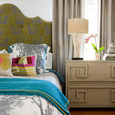 Contemporary Bedroom by Lynne Parker Designs