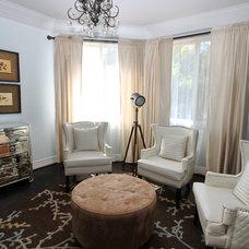 Mediterranean Bedroom by m.a.p. interiors inc. / Sylvia Beez