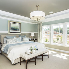 Transitional Bedroom by M/I Homes
