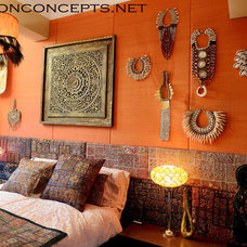 Eclectic Bedroom by Newton Concepts Furniture & Interior Design