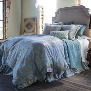 Example of a beach style bedroom design in Austin