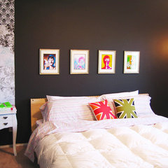 contemporary bedroom madebygirl-bedroom