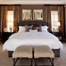Traditional Bedroom by P. Scinta Designs, LLC