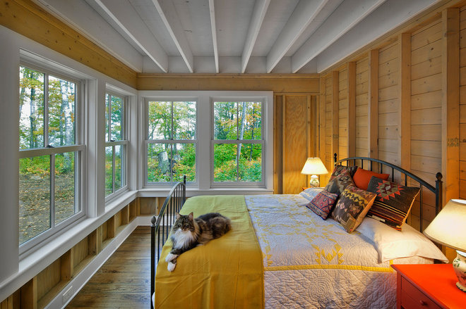 Farmhouse Bedroom by Albertsson Hansen Architecture, Ltd