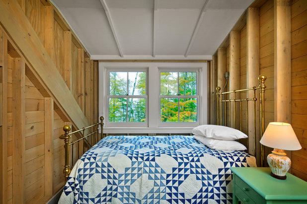 Farmhouse Bedroom by Albertsson Hansen Architecture, Ltd