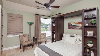 Madison Bi-fold Bookcase bed