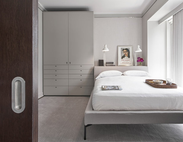Contemporary Bedroom by RDK Design