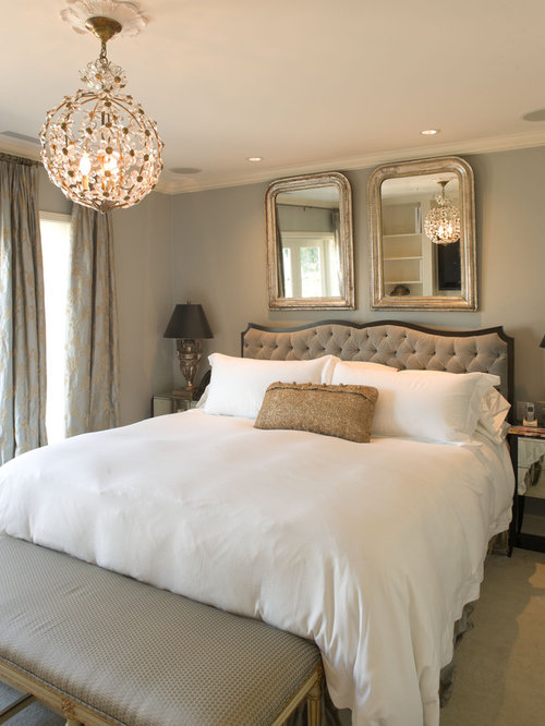 mirror above bed houzz