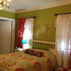 Eclectic Bedroom by Castellini Interior Design