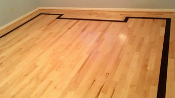Mahogany and Maple Hardwood Floors
