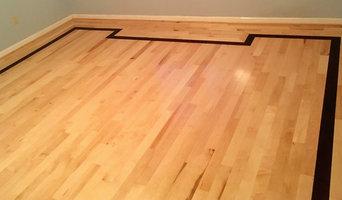 Mahogany and Maple Hardwood Floors